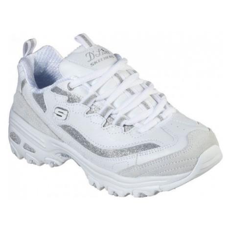 Skechers D'LITES GLIMMER EVE white - Women's low-top sneakers