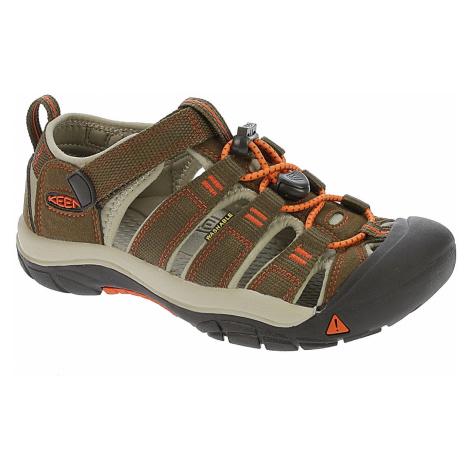 shoes Keen Newport H2 - Dark Earth/Spicy Orange