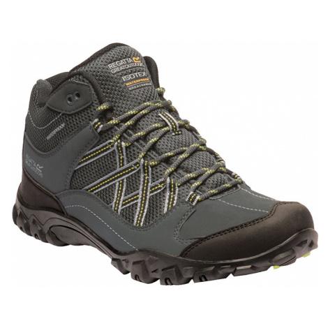 Regatta Mens Edgepoint Mid Waterproof Walking Boots-Briar / Lime Punch-8