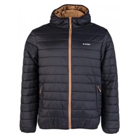 Hi-Tec NISOR black - Men's quilted jacket