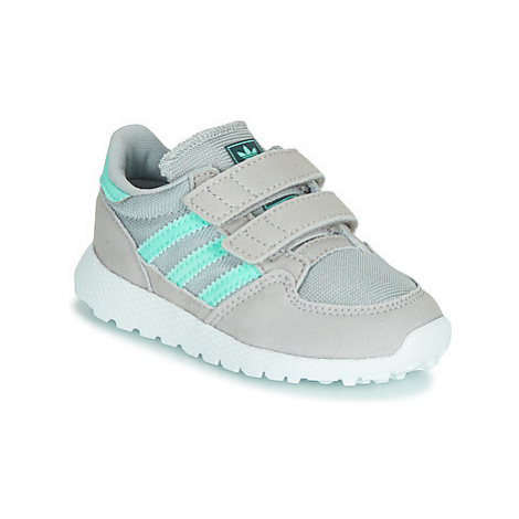 Adidas FOREST GROVE CF I girls's Children's Shoes (Trainers) in Grey