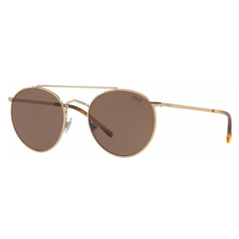 Polo Ralph Lauren Man PH3114 - Frame color: Rose Gold, Lens color: Brown, Size 51-20/145