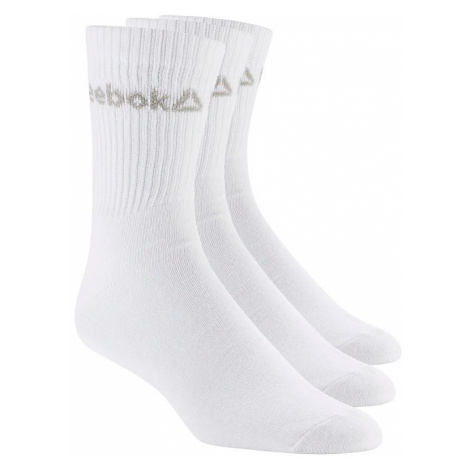 socks Reebok Performance Active Core Crew 3 Pack - White/White/White