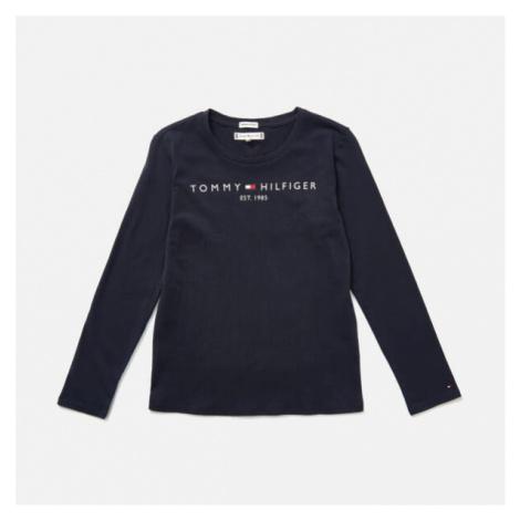 Tommy Hilfiger Girls' Essential Long Sleeve T-Shirt - Twilight Navy