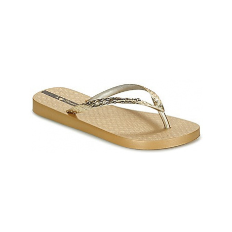 Ipanema GLAM women's Flip flops / Sandals (Shoes) in Gold