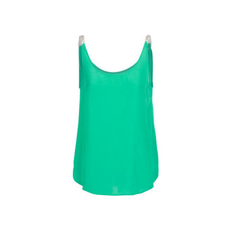 See U Soon GARAGALI women's Vest top in Green