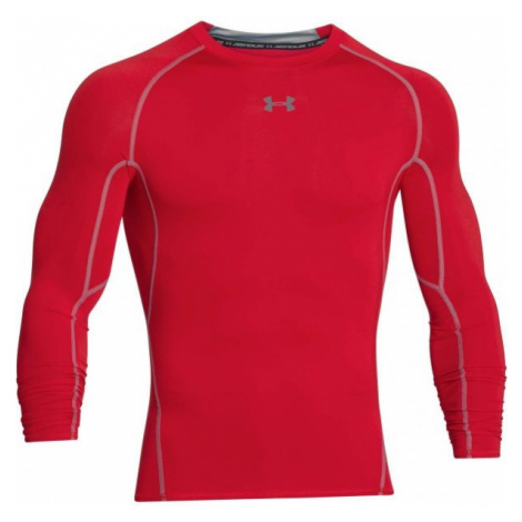 Under Armour HG ARMOUR LS red - Men's compression T-shirt