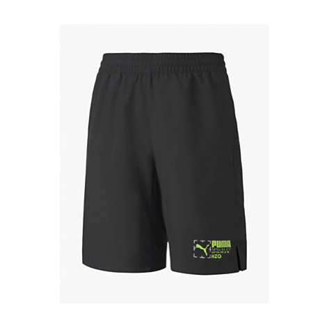 PUMA Boys' Active Sports Shorts, Black