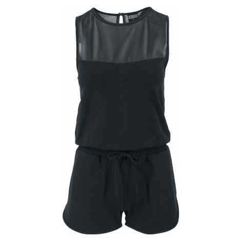Urban Classics - Ladies Tech Mesh Hot Jumpsuit - Jumpsuit - black