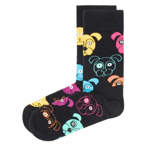Happy Socks Cat Vs Dog Set of 2 pairs of socks Black Colorful