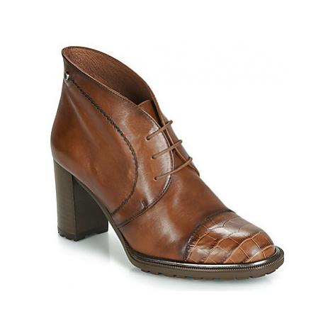 Hispanitas INES women's Low Ankle Boots in Brown