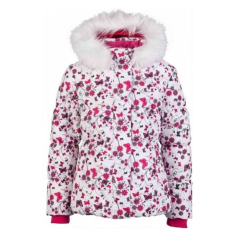 Lewro PARIS white - Girls' winter jacket