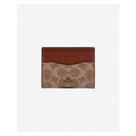 Coach Wallet for cards Brown