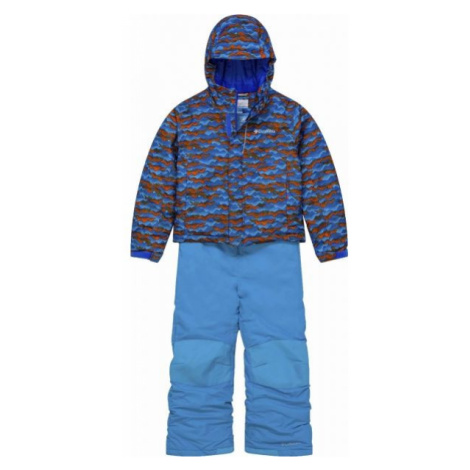 Columbia BUGA SNOW SET blue - Kids' winter set