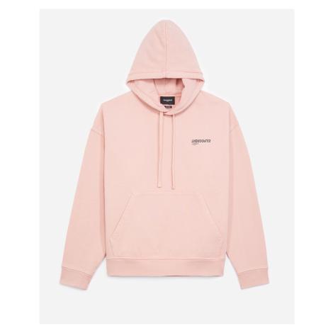 The Kooples - Embroidered pink hoodie by The Kooples - MEN