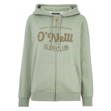 O'Neill LW NOYO F/Z HOODIE dark green - Women's hoodie