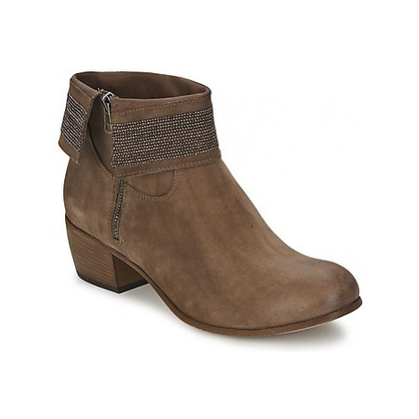 Fru.it SORA women's Low Ankle Boots in Brown