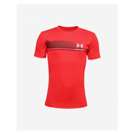 Under Armour Tech™ Lockup Stripe Kids T-shirt Red