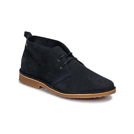 Jack Jones GOBI SUEDE men's Mid Boots in Blue Jack & Jones