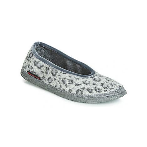 Giesswein LAUENAU women's Slippers in Grey