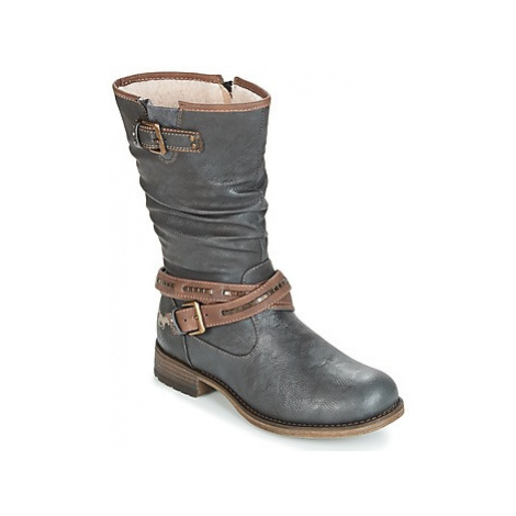 Mustang ISALBA women's High Boots in Grey
