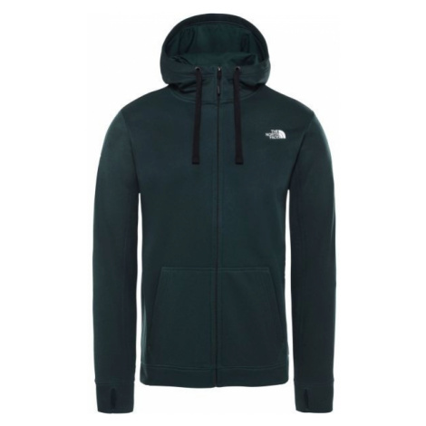 The North Face SURGENT FZ HD dark green - Men's sweatshirt
