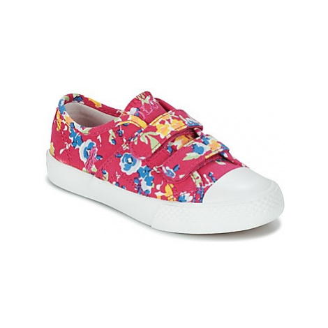 Polo Ralph Lauren DYLAND EZ girls's Children's Shoes (Trainers) in Pink