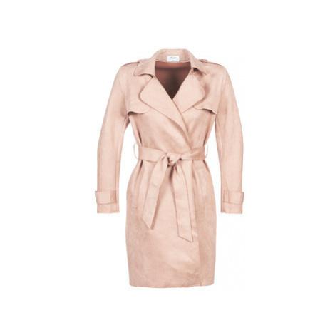 Betty London LESSLIE women's Trench Coat in Pink
