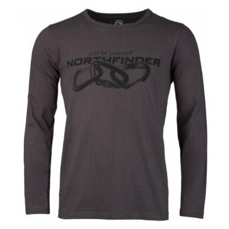 Northfinder CLIMB brown - Men's T-Shirt
