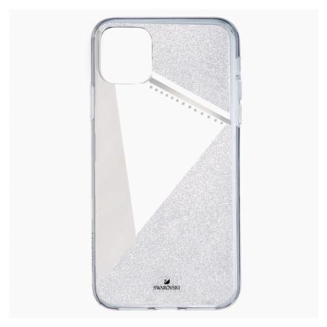 Subtle Smartphone Case with Bumper, iPhone® 11 Pro Max, Silver Tone Swarovski