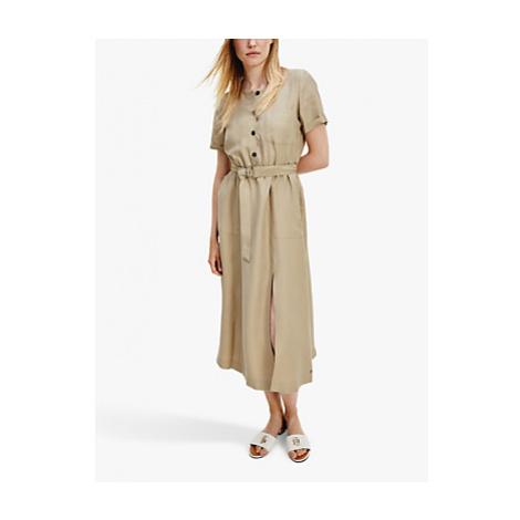 Tommy Hilfiger Shirt Dress, Light Brown