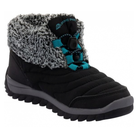 ALPINE PRO SOUNDO black - Kids' winter shoes
