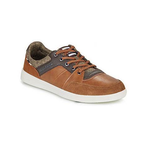 Jack Jones JFW NEWINGTON COMBO men's Shoes (Trainers) in Brown Jack & Jones
