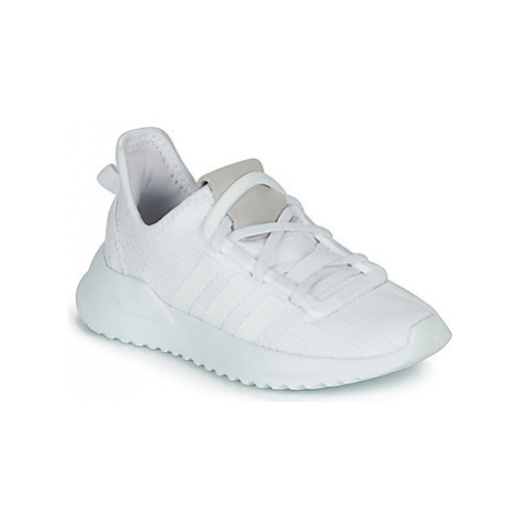 Adidas U_PATH RUN C girls's Children's Shoes (Trainers) in White