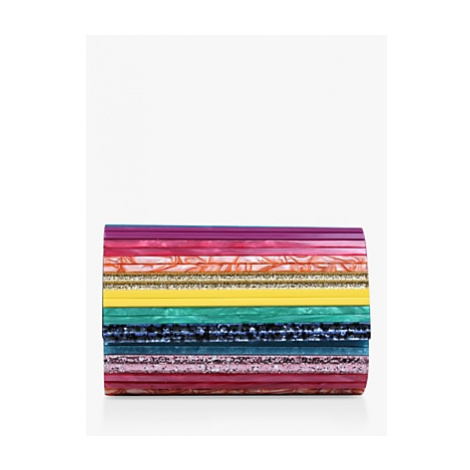 Kurt Geiger London Party Envelope Clutch Bag, Multi