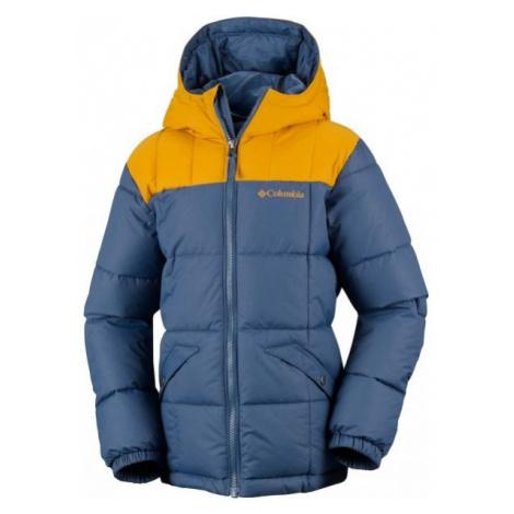 Columbia GYROSLOPE JACKET dark blue - Kids' jacket