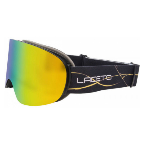 Laceto FLAKE black - Children's ski goggles