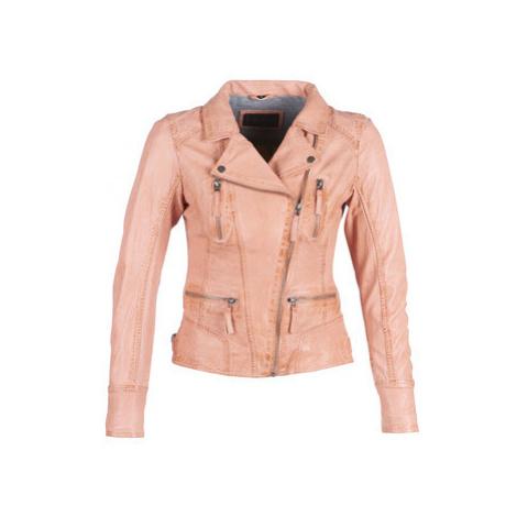 Oakwood CAMERA women's Leather jacket in Pink