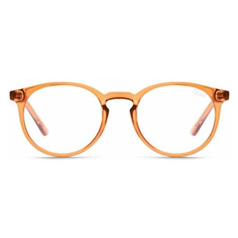Quay Australia Eyeglasses QW-000588 DAY JOB TOFF/CLRBLT