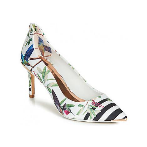 Ted Baker VYIXYNP2 women's Court Shoes in White