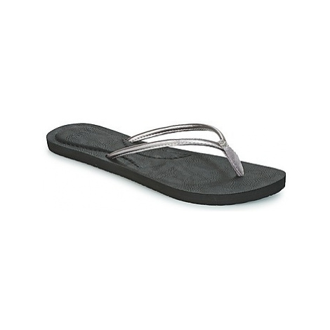 Rip Curl LUNA women's Flip flops / Sandals (Shoes) in Silver