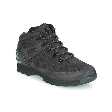 Timberland Euro Sprint Fabric WP men's Mid Boots in Black