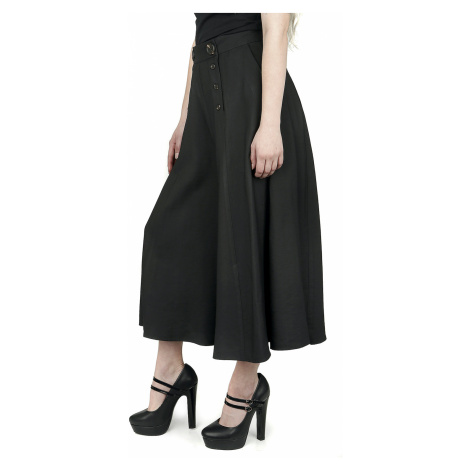 Hell Bunny - Murphy Culottes - Girls trousers - black