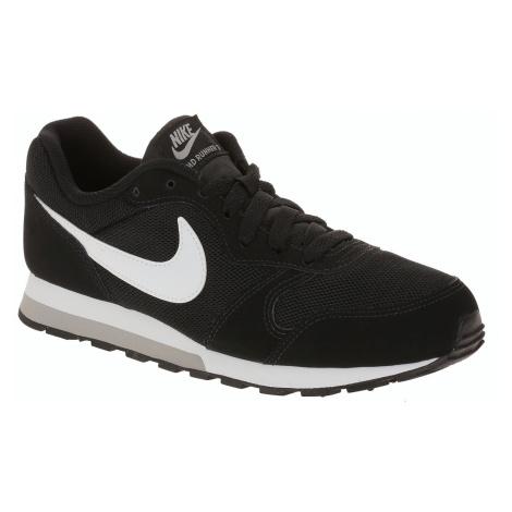 shoes Nike MD Runner 2 GS - Black/White/Wolf Gray - unisex junior
