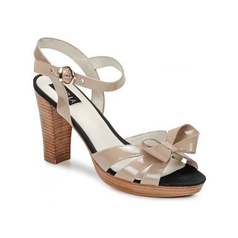 C.Petula PIN-UP women's Sandals in Beige