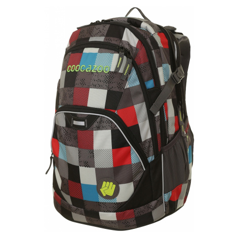 backpack Hama - Coocazoo 1247871/EvverClevver 2 - Checkmate Blue Red