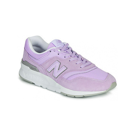 New Balance 997 women's Shoes (Trainers) in Purple