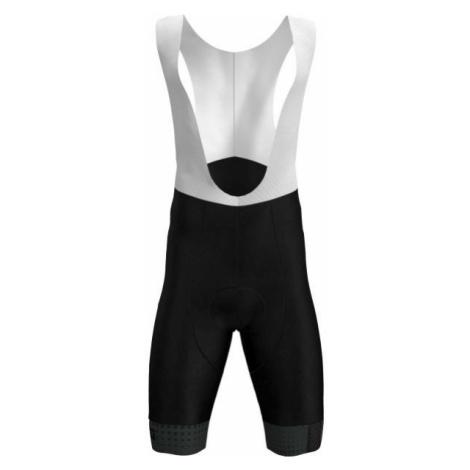 Rosti GRIGIO white - Men's cycling bib shorts