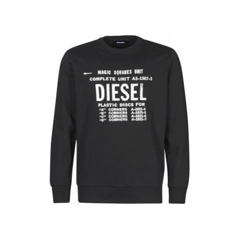 Diesel S-GIR-B5 men's Sweatshirt in Black