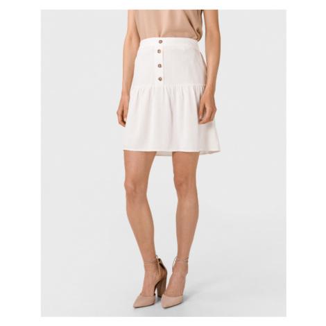 Vero Moda Helen Milo Skirt White